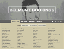 Tablet Preview of belmontbookings.nl